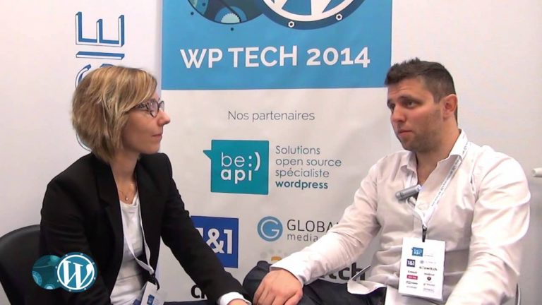 Interviews lors du Wp Tech Nantes 2014