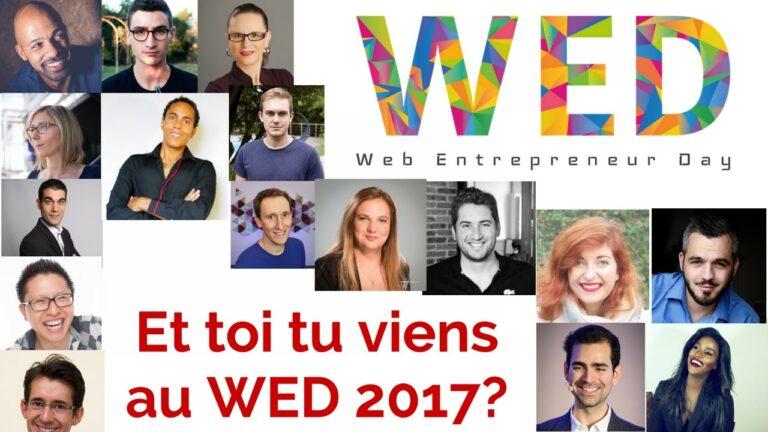 """Participation au Web Entrepreneur Day 2017 : """"Construire son image publique, un """"Je"""" d'enfant"""""""